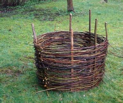 Weave Compost Bin